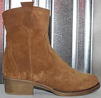 Ботинки женские зимние замшевые от производителя модель РИ304-2, фото 1