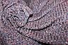 Ткань трикотаж мягкая не плотная резинка , цвет фиолет, пог. м.№214