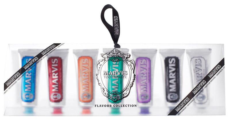 Набор зубных паст Marvis Flavours Pack, 7 х25 мл