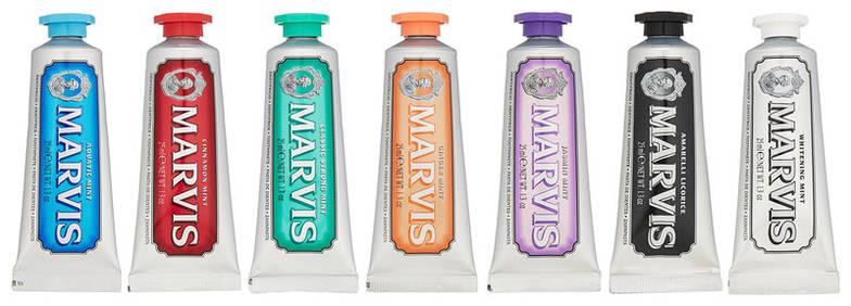 Набор зубных паст Marvis Flavours Pack, 7 х25 мл, фото 2