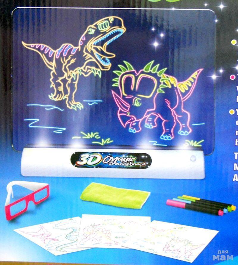 Планшет для рисования magic 3D Wistmart
