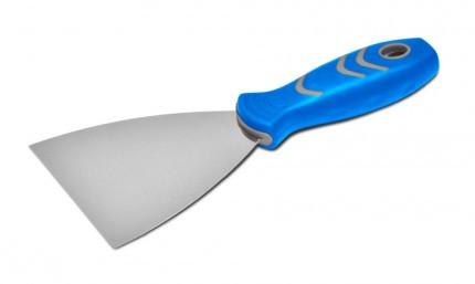 Шпательная лопатка с двухкомпонентной ручкой 75мм Favorit