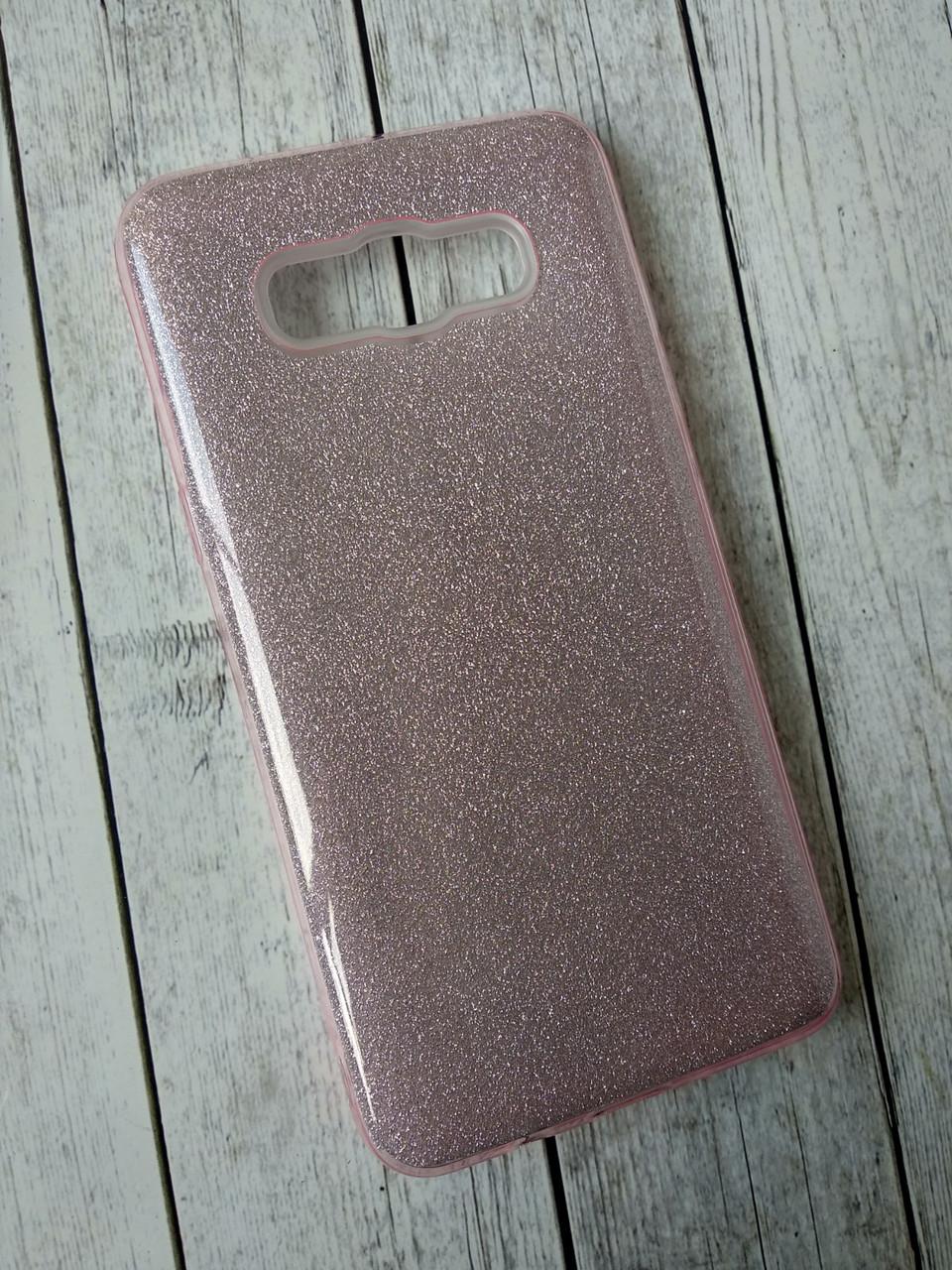 Чехол для Xiaomi Redmi 6 /6A Silicone+Plastic Remax Glitter pink