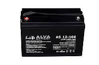 Аккумуляторная батарея гелевая ALVA battery AS12-100, фото 1