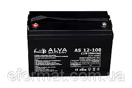 Аккумуляторная батарея гелевая ALVA battery AS12-100