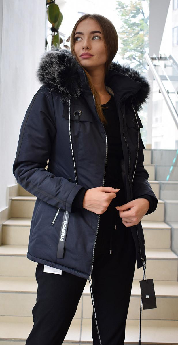 Куртка парка женская зимняя М157