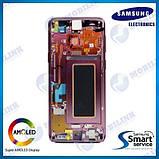 Дисплей на Samsung G960 Galaxy S9 Фиолетовый(Purple),GH97-21696B, Super AMOLED!, фото 2