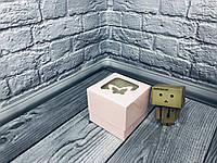 *10 шт* / Коробка для 1-ого кекса / 100х100х90 мм / печать-Пудр / окно-бабочка / лк, фото 1
