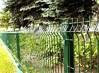 Забор Металлический Секция ограждения Эконом Полимер (оцинкованная) 1,25м х 2,5м