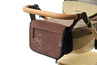 Сумка для коляски Ok Style Цветок  Коричневая