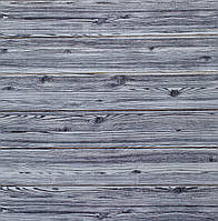 Стеновые 3D панели sticker wall дерево зебра самоклеящая основа Серый (sw-grey)