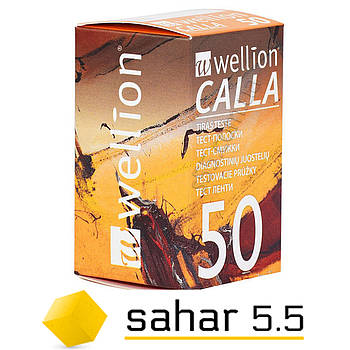 Тест полоски Веллион Калла 50шт - Wellion Calla