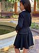 Пиджак школьный для девочки мадонна/тиар 122,128,134, фото 3