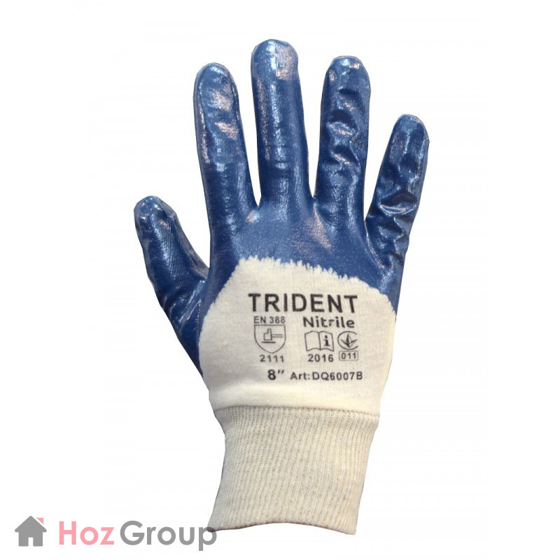 Перчатки маслостойкие трикотажные Trident