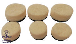 SGCB набор сменных мини падов (короткая шерсть) для гибкого вала