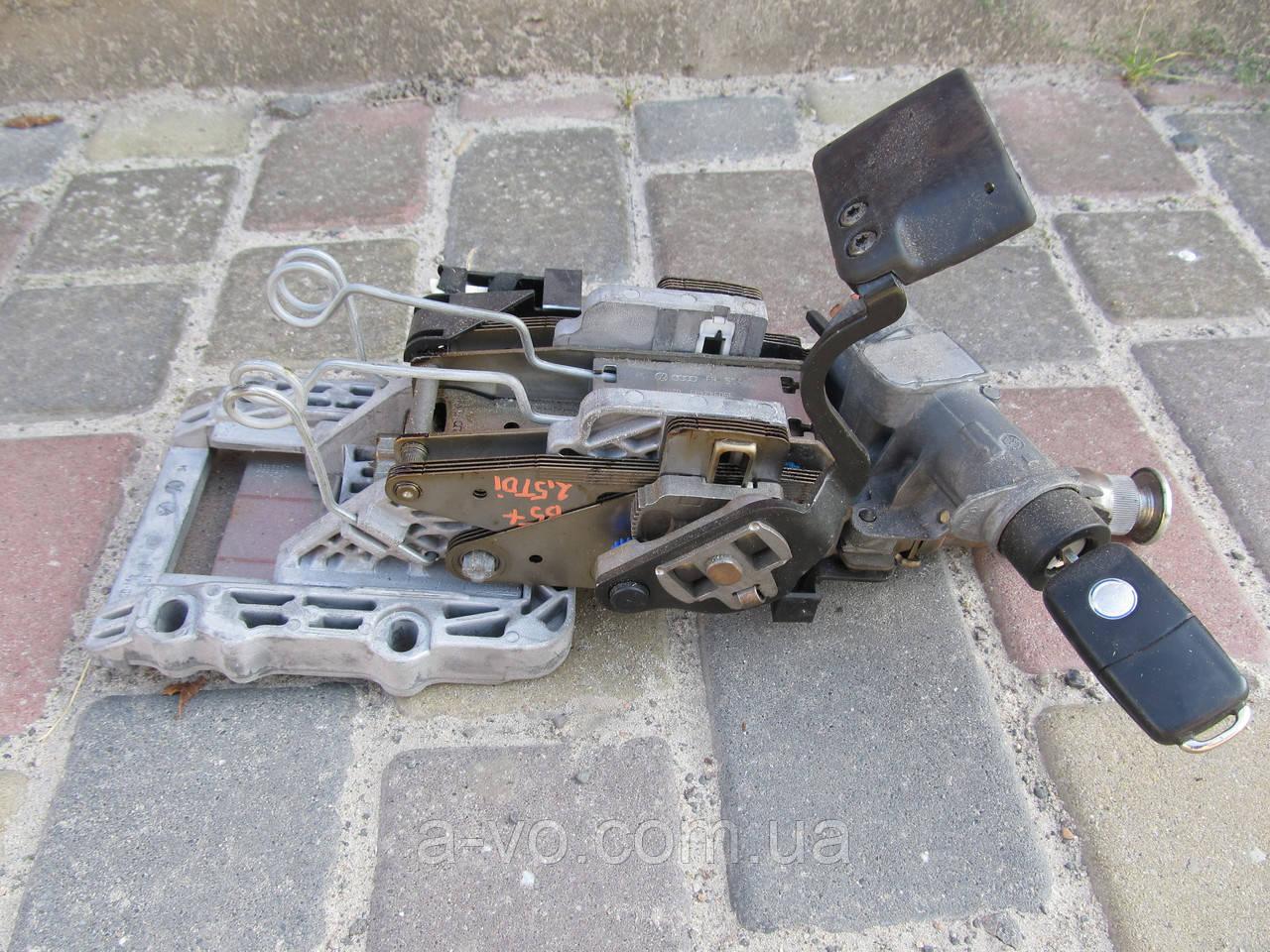 Рулевая колонка механизм c замком зажигания VW Passat B5, 3B0419502F, 4b0905851C, 4B0905849