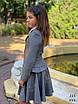 Пиджак школьный подросток для девочки мадонна/тиар 140,146,152,158, фото 4