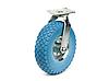 3.50/4.10-4 Колесо пінополіуретанове з поворотним кронштейном, діаметр 260 мм, навантаження 135 кг