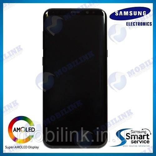 Дисплей на Samsung G955 Galaxy S8+/Plus Серый(Orchid Gray),GH97-20470C, Super AMOLED!