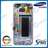 Дисплей на Samsung G955 Galaxy S8+/Plus Серый(Orchid Gray),GH97-20470C, Super AMOLED!, фото 2