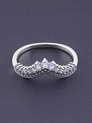 077379-180 Кольцо 'Pandora style' Фианит Серебро(925)