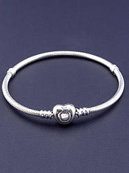 077408 Браслет 'Pandora style'  Серебро(925) 20 см.