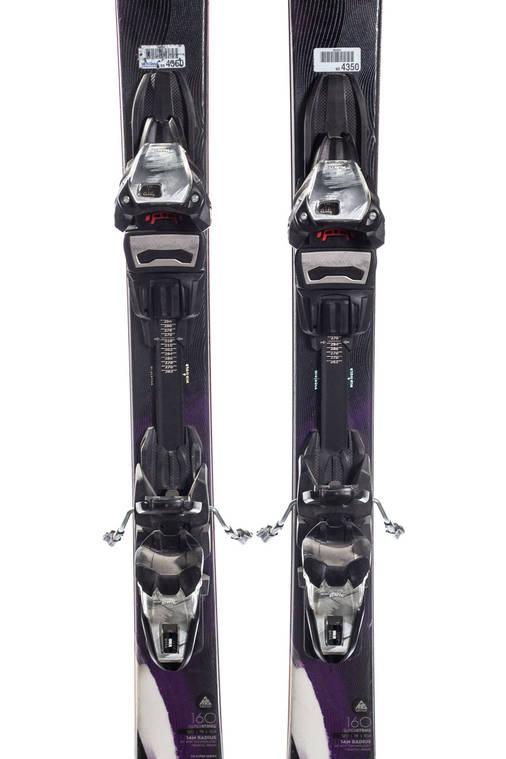 Гірські лижі K2 Superstrike 160 Б/У, фото 2