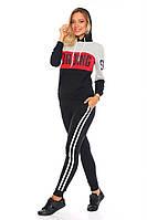 """Спортивный костюм женский с капюшоном, размеры S-XL (4цв) """"COCO"""" купить недорого от прямого поставщика, фото 1"""
