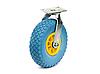 Колесо пінополіуретанове з поворотним кронштейном, діаметр 260 мм, навантаження-125 кг