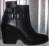 Ботинки женские зимние кожаные от производителя модель РИ80-10-2, фото 1