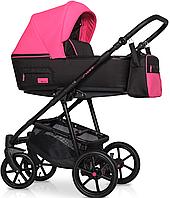 Дитяча універсальна коляска 2 в 1 Riko Swift Neon 22 Electric Pink, фото 1