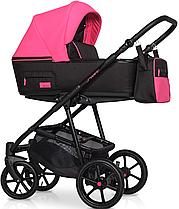 Дитяча універсальна коляска 2 в 1 Riko Swift Neon 22 Electric Pink
