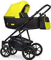 Дитяча універсальна коляска 2 в 1 Riko Swift Neon 23 Crazy Yellow, фото 1