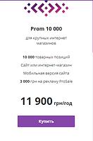 Пакет Услуг -  Prom 10 000