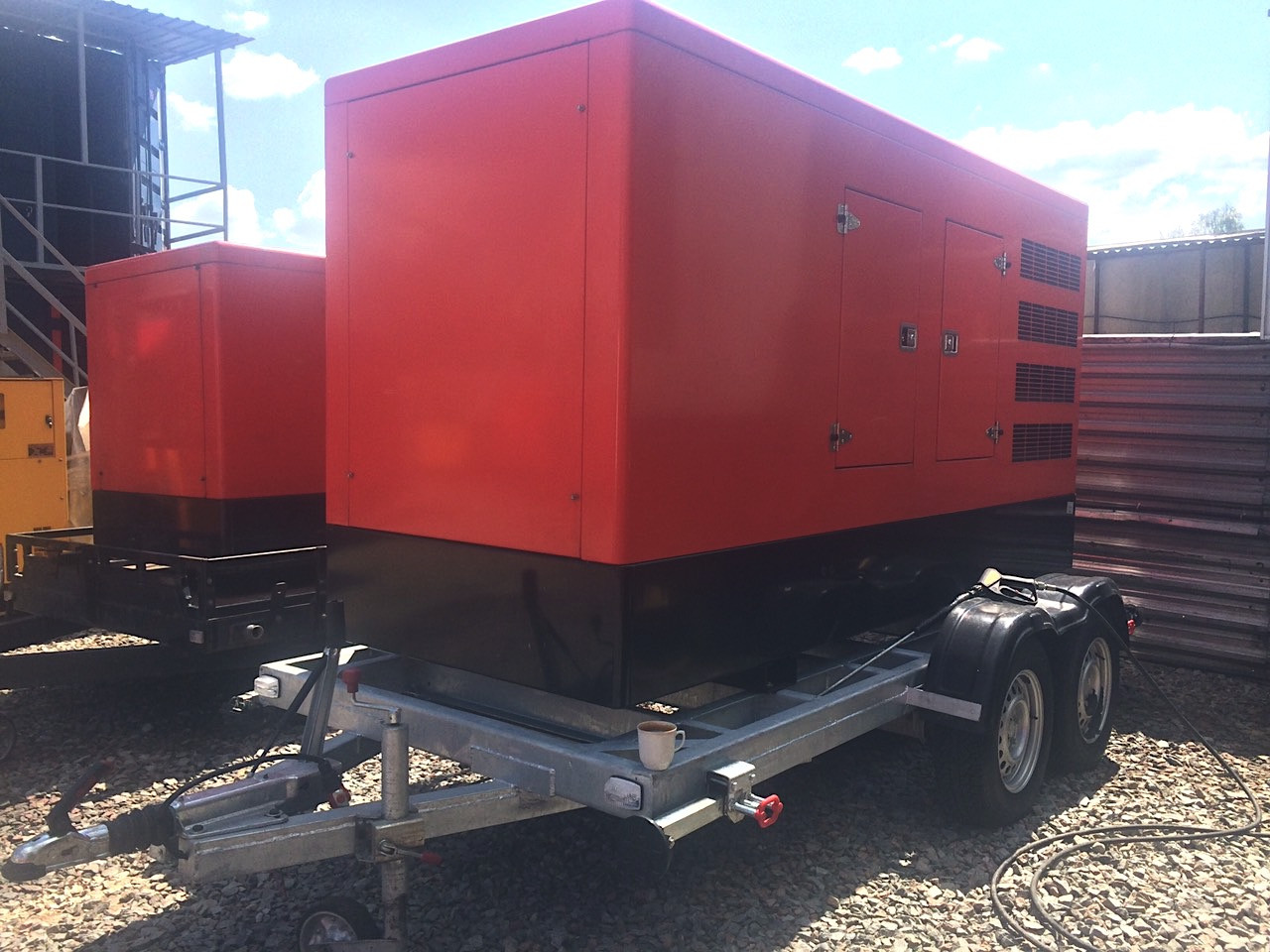 Оренда дизельного генератора HIMOINSA HIW-160 Т5 (127 кВт)