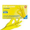 Желтые однорaзовые нитриловые перчатки Style (100 шт)