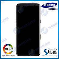 Дисплей на Samsung G950 Galaxy S8 Чёрный(Black),GH97-20457A, Super AMOLED!