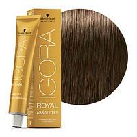 7-40 Краска для седых волос Schwarzkopf Professional Igora Royal Absolutes - Средний русый бежевый натуральный