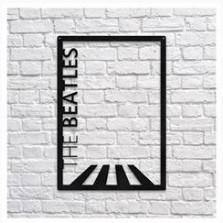 Деревянный декор на стену WHICH.BLACK - Beatles (75x52 см)