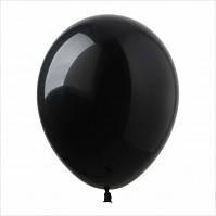 """12"""" (30 см) пастель черный круглый Sempertex Колумбия латексный шар"""
