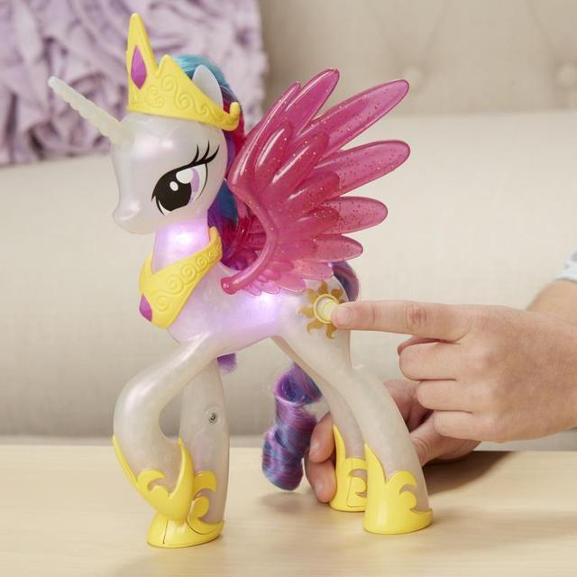 My Little Pony Принцесса Селестия сверкающая и светящаяся