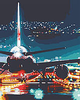 "Картина по номерам ""Огни аэропорта"", ArtStory, AS0587"