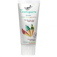 Зубная паста Bioton cosmetics для детей Ice cream 50 мл