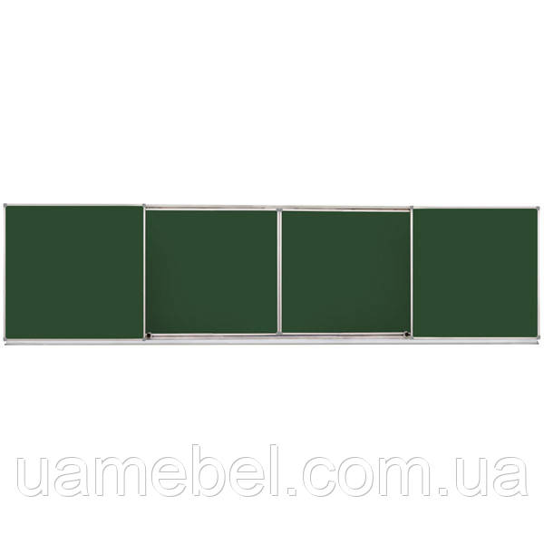 Школьная доска меловая/маркерная/комбинированная, 400х100 cм, фото 1