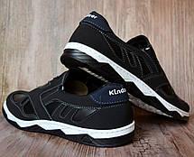 Туфлі мокасини чорні Розпродаж 43 розмір, фото 3