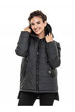 Женская куртка осень-весна Стелла малахит (44-56)