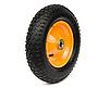 Колесо пневматическое диаметром 375 мм, 4х слойная шина, нагрузка 90кг