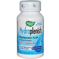 Гиалуроновая кислота +МСМ Nature's Way 60 капсул