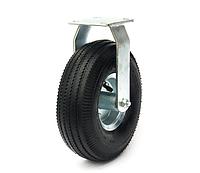 Колесо пневматическое с неповоротным кронштейном, диаметр 270 мм, нагрузка 135 кг