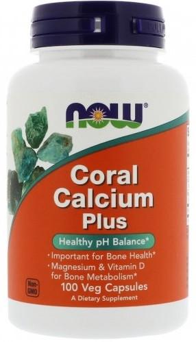 Витамины Now Foods - Coral Calcium Plus (100 капсул) (срок годности до 03.2020)